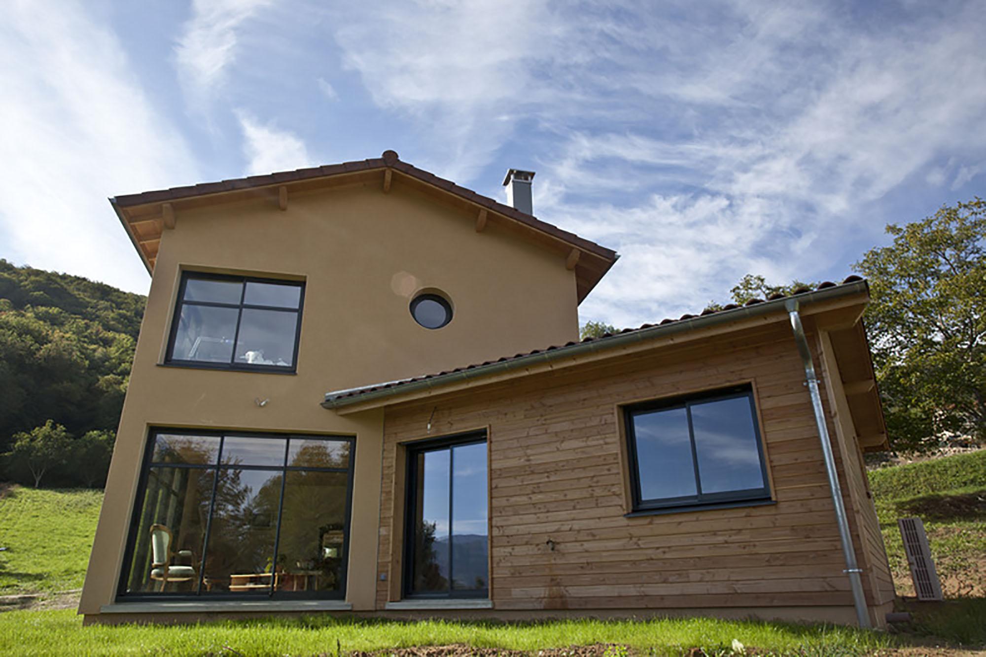 Constructeur Maison Ossature Bois 76 construction de maison en ossature bois | chanvre & bois